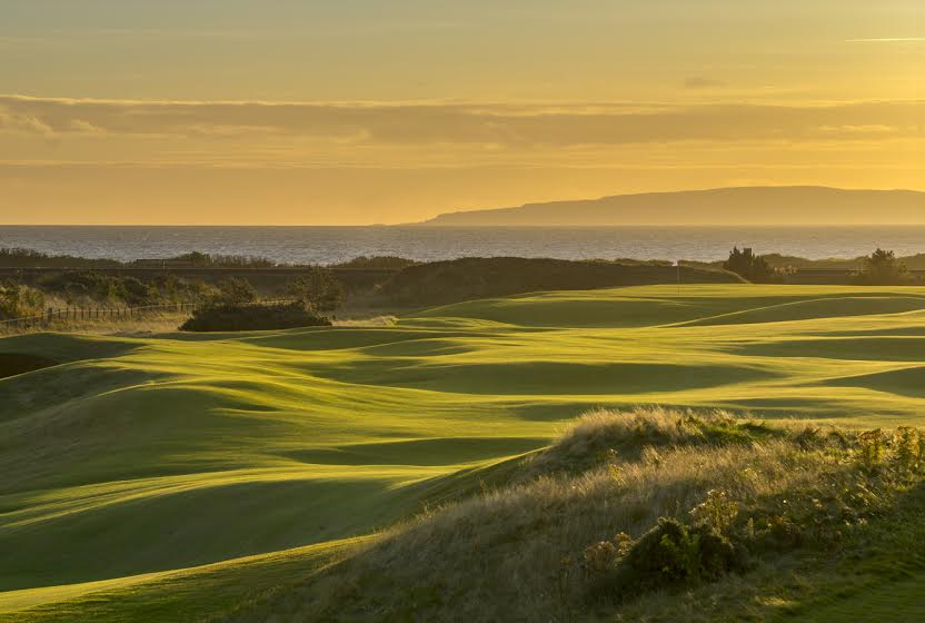 Dundonald Links, host of the Scottish Open in 2017.