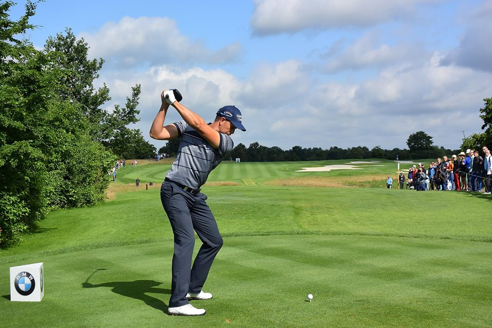 Henrik Stenson at the BMW International, photo courtesy of Golf Channel Facebook