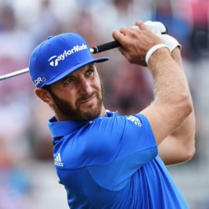 Dustin Johnson photo courtesy of Golf Digest Facebook