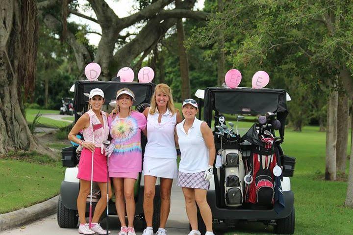 Members of EWGA on the Golf Course