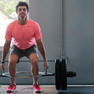 Rory McIlroy lift