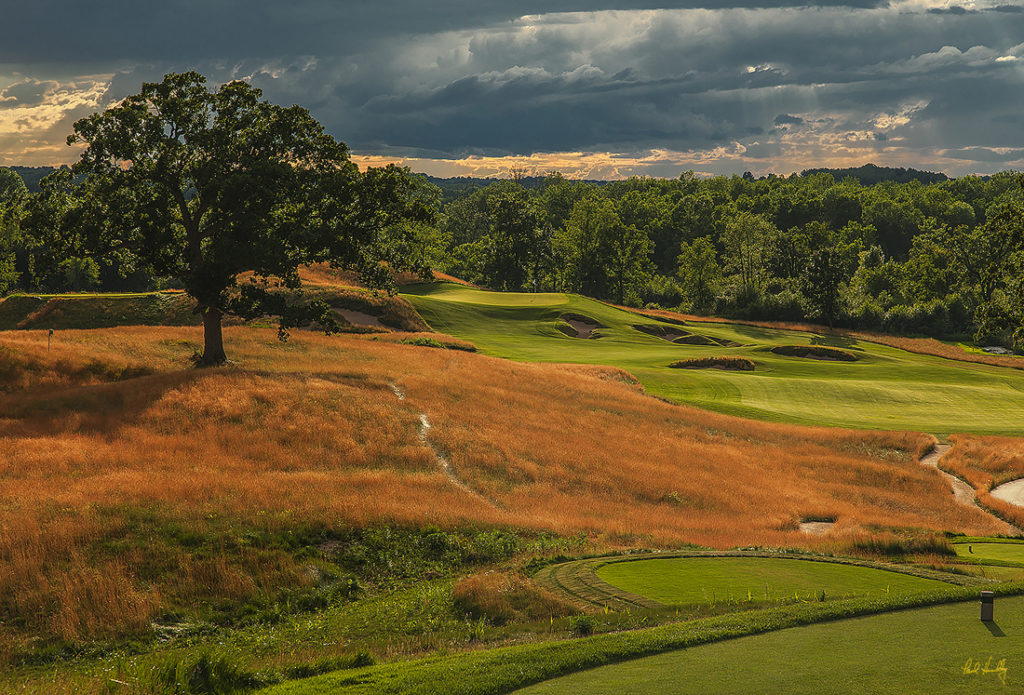 2017 US OPEN / ERIN HILLS | BEHIND THE ARCHITECTURAL CURTAIN