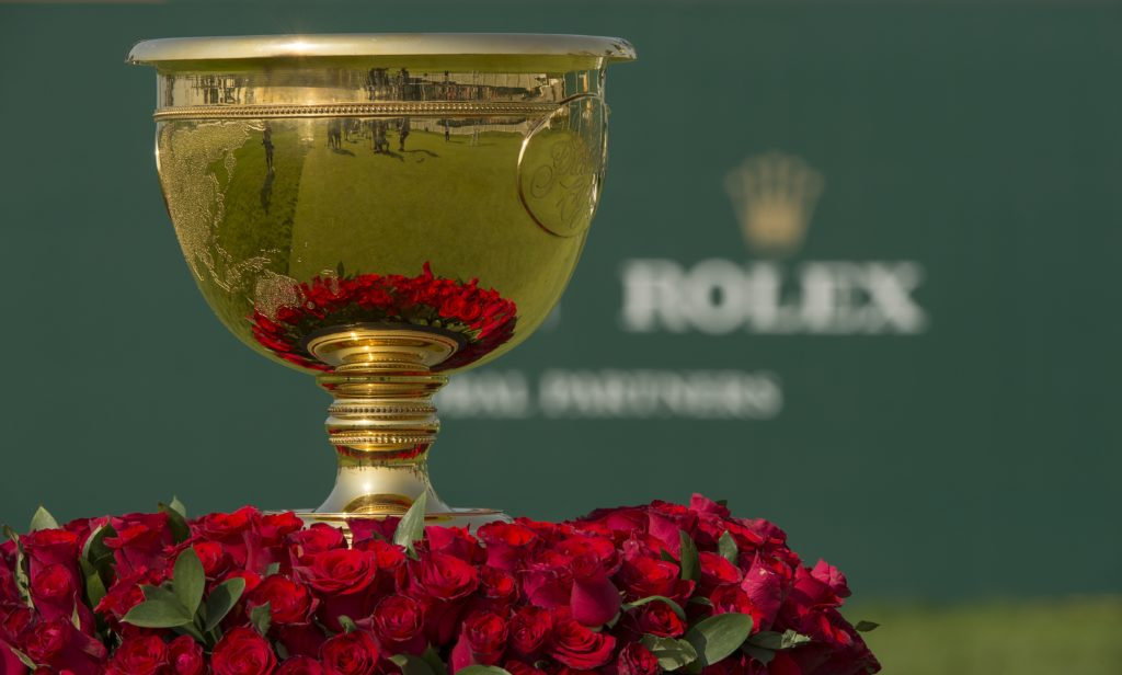 Rolex Testimonees Take Center Stage at 2017 Presidents Cup