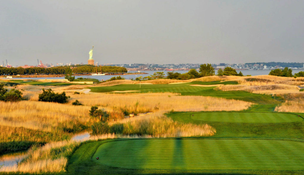 2017 Presidents Cup Matches   Liberty National Golf Club   Behind the Architectural Curtain