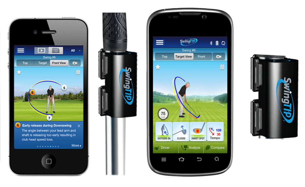 Wireless 3D Golf Swing Analyzer – SwingTIP