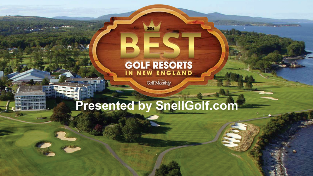 2016 Best Golf Resorts in New England