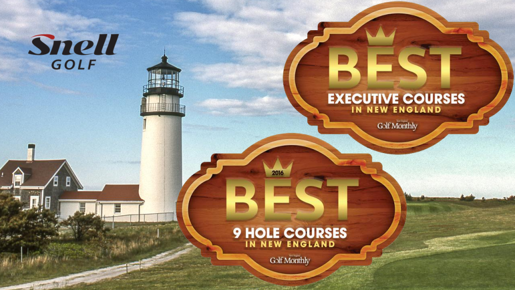 2016 Best Executive & 9 Hole Courses in New England
