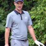 Gold Medal winner Justin Rose