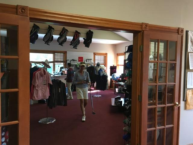 Women's Outfits in Pro Shop