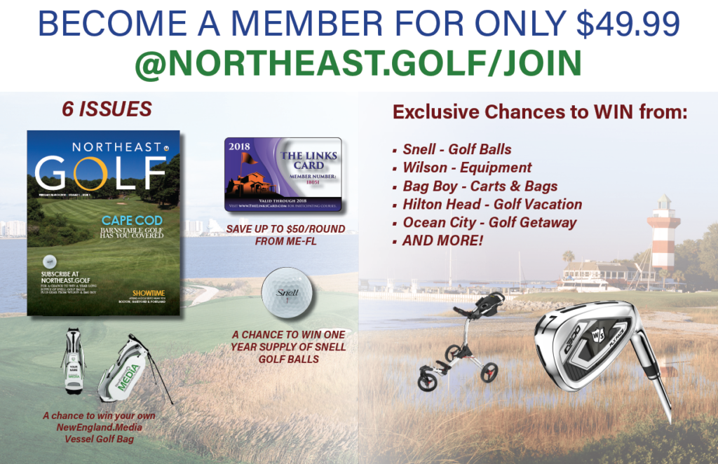Become a Northeast GOLF member