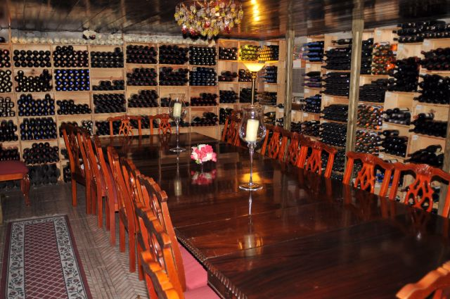 Wine Cellar Graycliff