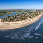 Aerial of Isle of Palm, South Carolina