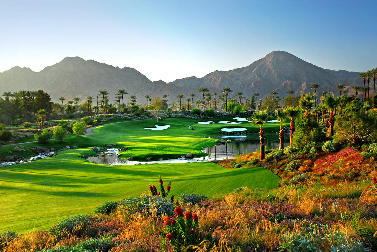 Indian Wells Celebrity Course — Hole #14