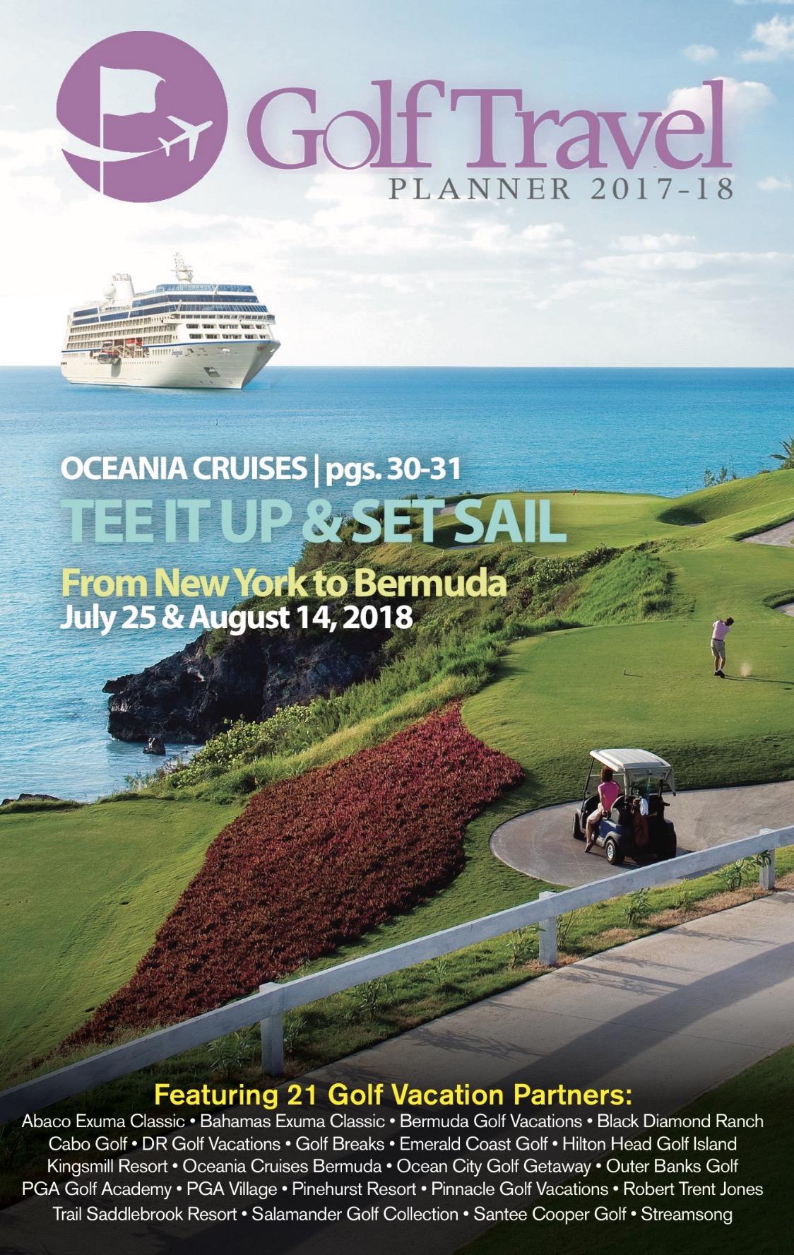 golf trip planner