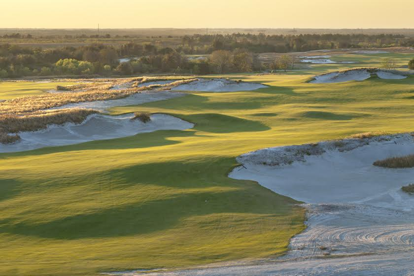 Streamsong Blue in Florida, by Mark Alexander