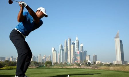 Tiger Woods Dubai Desert Classic